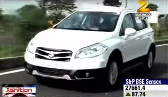 S-Cross on ZeeGnition Zee Business Show